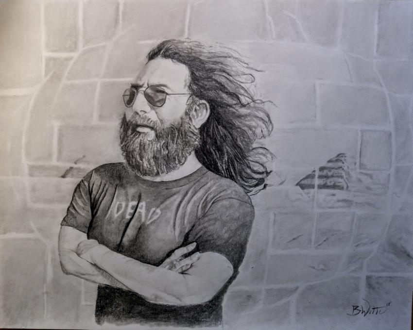 Jerry Garcia by BWitteArt
